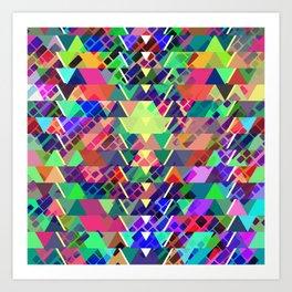 Geometric pattern 2b Art Print