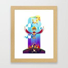 Skyward Sword Poster Framed Art Print