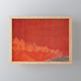 The Burning Forest Framed Mini Art Print