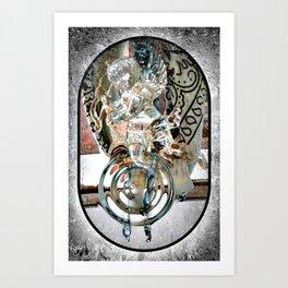 My Guardian Angel Art Print