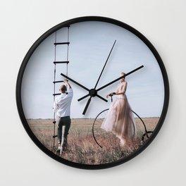 Leaving you Wall Clock