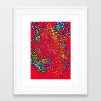 sparkle Framed Art Prints featuring Sparkle  by Sammycrafts