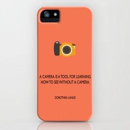 A camera iPhone Case