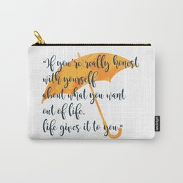 Honest Carry-All Pouch