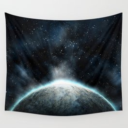 Cold Space Wall Tapestry
