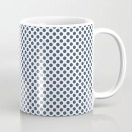 Ensign Blue Polka Dots Coffee Mug