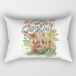 In the grass Rectangular Pillow