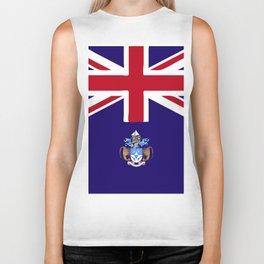 Tristan Da Cunha flag emblem Biker Tank