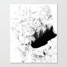 Dotted streaks Canvas Print