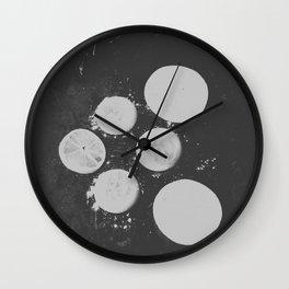 GEOMETRIC SERIES V Wall Clock