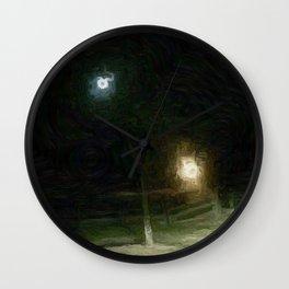 Good Night Farm Wall Clock