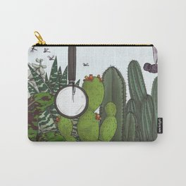 emptiness and magnifying glass Carry-All Pouch