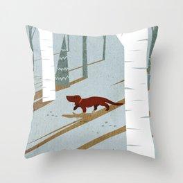 Rabbit hunt 2 Throw Pillow