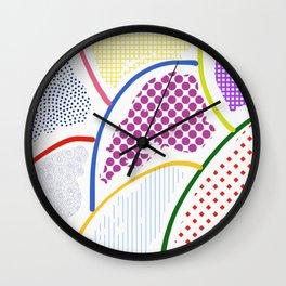Whimsical Lumps Wall Clock