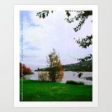 Every Leaf is a Flower - simple Art Print
