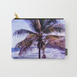 Original Black Sand Beaches and Palm trees Carry-All Pouch