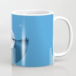 Nature Guitar Record Coffee Mug