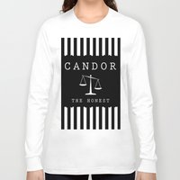 divergent Long Sleeve T-shirts featuring CANDOR - DIVERGENT by MarcoMellark
