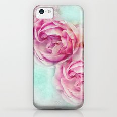 RED ROSES FOR THE LADY iPhone 5c Slim Case