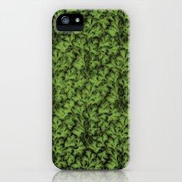 Vintage Floral Lace Leaf Greenery iPhone Case
