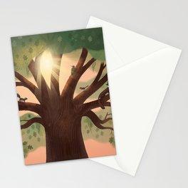 Oak Stationery Cards