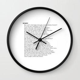 Romeo Wall Clock