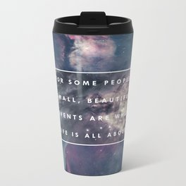 What Life Is All About - Doctor Who Metal Travel Mug