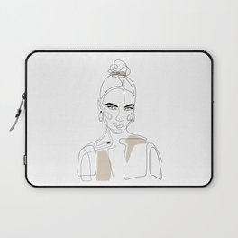 Artist In Beige Laptop Sleeve