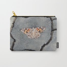 Butterfly on Crack Carry-All Pouch