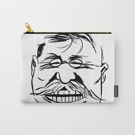 Face President Theodore Roosevelt Carry-All Pouch