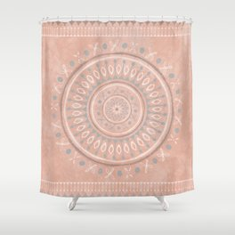 """""""Astral Lullaby"""" in Pink Shower Curtain"""