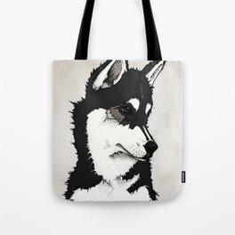 Nico the Husky Tote Bag