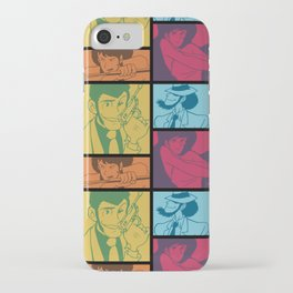 Lupin III Jazz Record iPhone Case