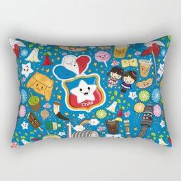 Dulce Patria Kawaii Rectangular Pillow