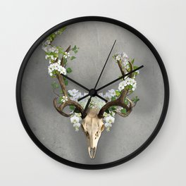 Flowers for the Dead Wall Clock