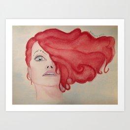 "Amanda Palmer- ""I See You"" Art Print"