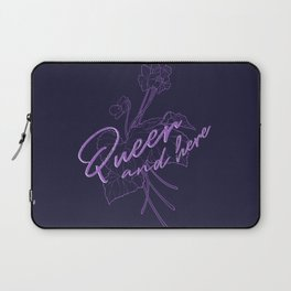 Queer Violets Laptop Sleeve