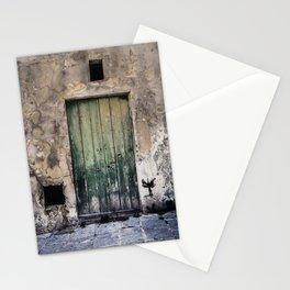Green Door III Stationery Cards