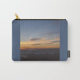 Sunset over Mana Island New Zealand Carry-All Pouch