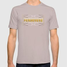 Persevere Cinder Mens Fitted Tee SMALL