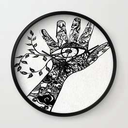 look what's inside Wall Clock