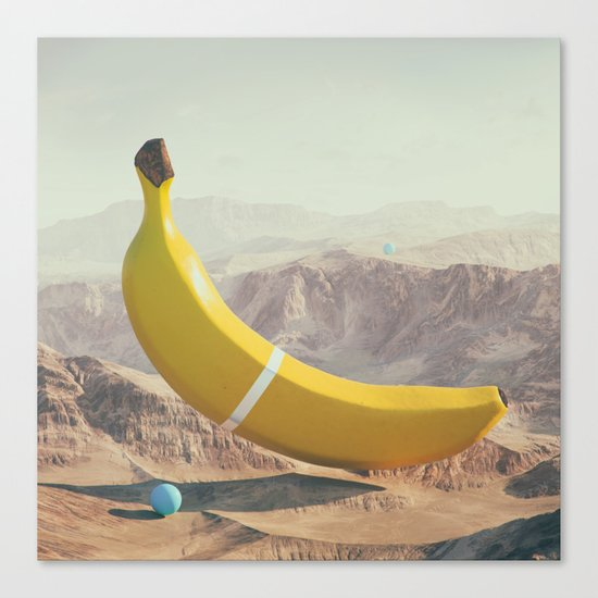 Banana Land Canvas Print