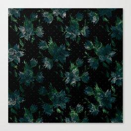 Art splash brush strokes paint abstract print Canvas Print