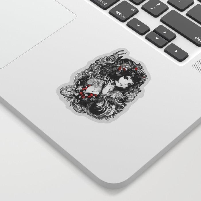 Oiran Sticker