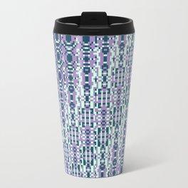 "Cos(a × (n × j^2 + k × i^2)) × 0.7 [""70s Pattern""] - [PIXEL ZOOM] Travel Mug"