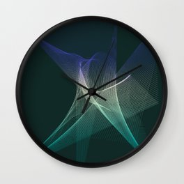 Star Chaos Wall Clock