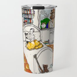 Books Coming to Life: Beauty and the Beast Travel Mug