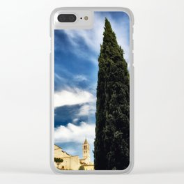 Assisi Clear iPhone Case