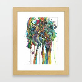 My Favorite Zelda Weapons Framed Art Print