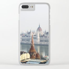 The Parliament Building. Clear iPhone Case